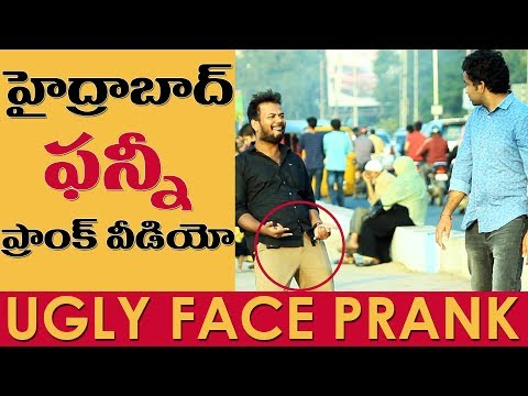 Ugly Face Prank in Hyderabad | Pranks in India | FunPataka