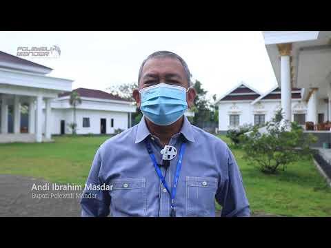 Bupati Polewali Mandar Andi Ibrahim Masdar Sampaikan Belasungkawa atas Bencana di Sulawesi Barat