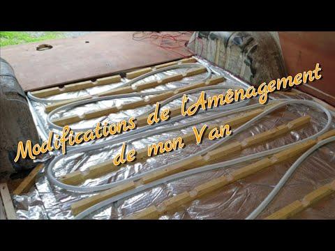 Modifications De L'aménagement De Mon Van