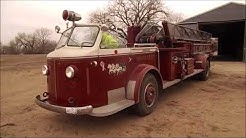 1958 American Lafrance ladder fire truck for sale at auction | bidding closes May 16, 2018