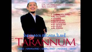 Surah Al-Fatihah 8 Tarannum Dr Muhammad Lukman Ibrahim