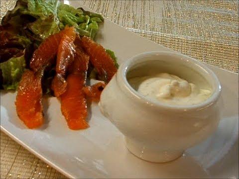 Укропный соус к соленой рыбе / Sauce citronnée à laneth