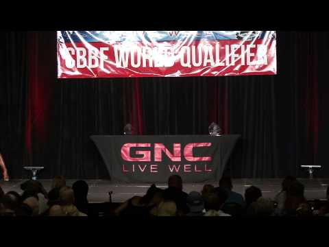Liliana Dominguez  CBBF Natural Nationals 2015