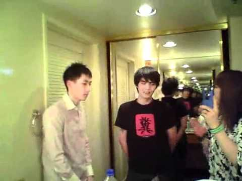 A short interview with Xian.(Xianのショートインタビュー) and...Poongko!? lol