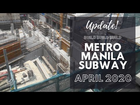UPDATE | Metro Manila Subway Project Amidst ECQ
