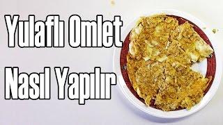 Yulaflı Omlet Tarifi | En Pratik Kahvaltı | Spor Öncesi Beslenme | How To Make Oatmeal Omelet
