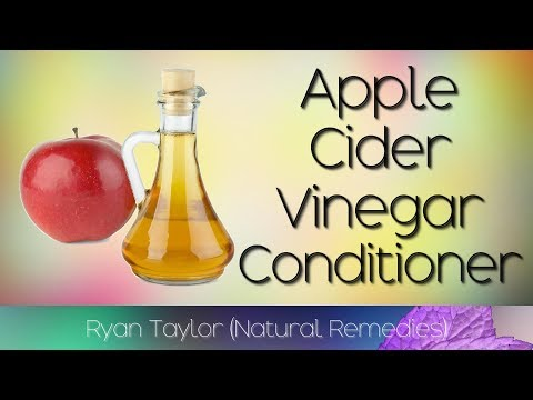 Apple Cider Vinegar Conditioner: for Hair Growth (Rinse)