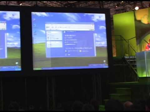 Microsoft WindowsXP Presentation at World PC EXPO 2001