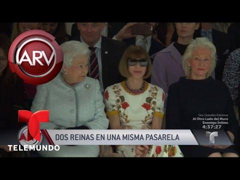 La Reina Isabel II asistió al Fashion Week de Londres | Al Rojo Vivo | Telemundo