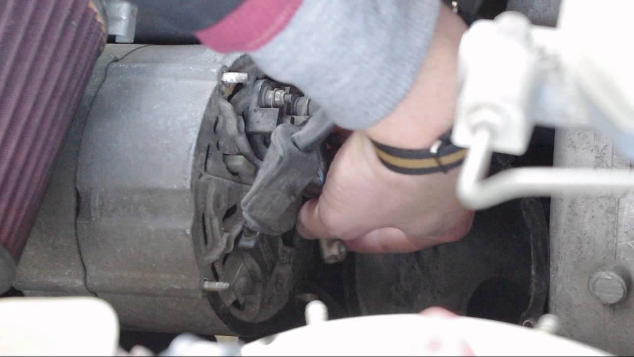 How To Repair an Alternator  Voltage Regulator  YouTube