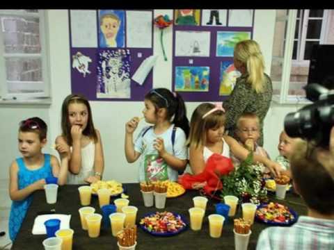 """Kids Art Show- The Little Art school """"The Blue Bunny""""- Budva, Montenegro, Europe!"""