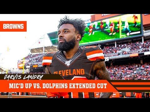 Jarvis Landry Mic'd Up Vs. Dolphins: Extended Cut | Cleveland Browns