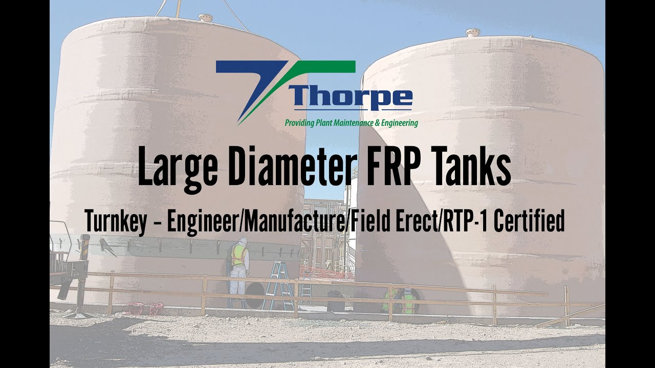 Tanks, Process Equipment | Industrial Plant Services Thorpe