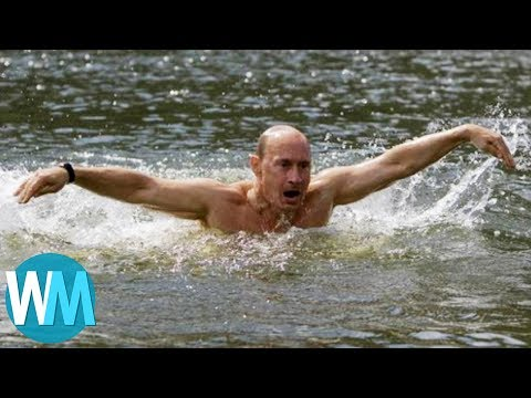 Top 10 Manliest Things We Know About Vladimir Putin