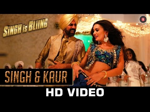 Singh & Kaur Video Song - Singh Is Bliing