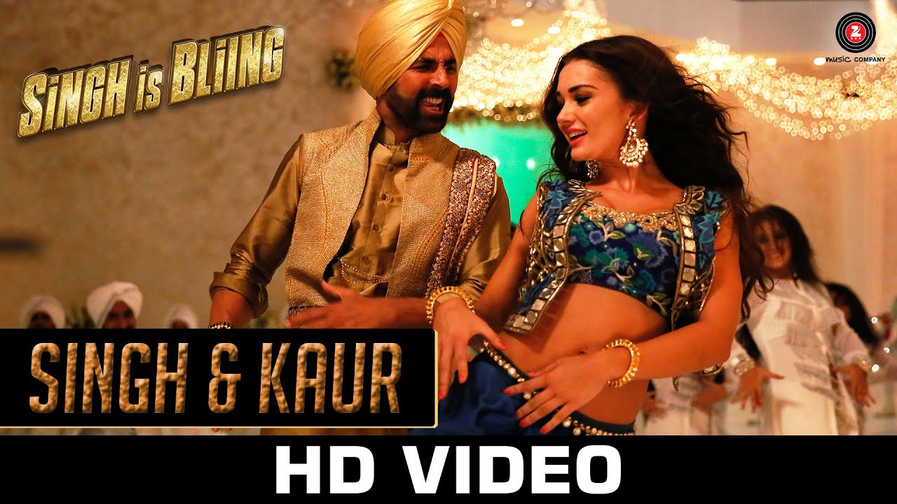 Download Singh & Kaur - Singh Is Bliing | Akshay Kumar, Amy Jackson | Manj Musik, Nindy Kaur & Raftaar