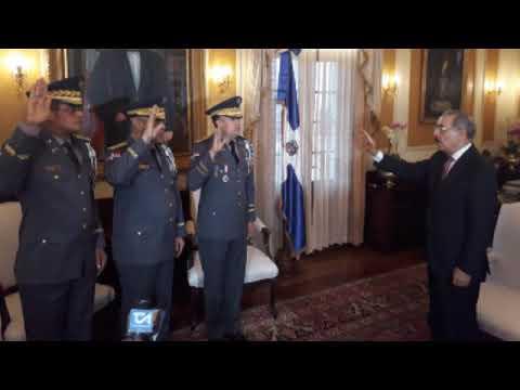 ASI TRABAJA LA POLICIA EN SANTO DOMINGO OESTE