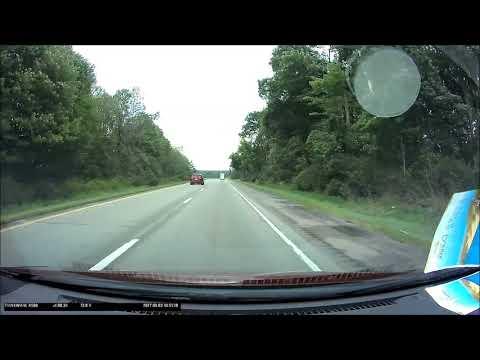 Middlesex to Brookville, Pennsylvania