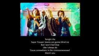 Mama Mia Super Trouper Lyrics (full song)