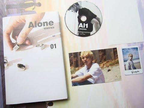 Seventeen Al1 Album Unboxing - Alone Vers