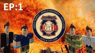 Roblox Lets Play #1 (Jefferson City Fire Dept)