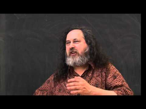 Richard Stallman on the definition of free software