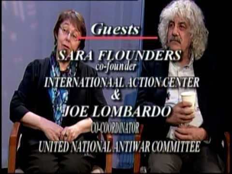 Sara Flounders & Joe Lombardo 03-05-11 Original air date