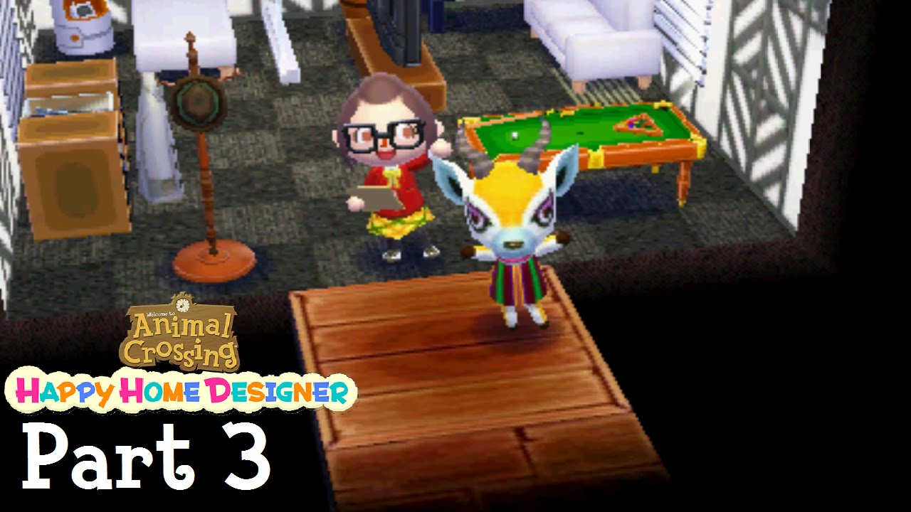 Animal crossing happy home designer part 3 a stylish for 7 11 happy home designer