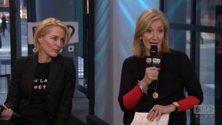 """Gillian Anderson And Jennifer Nadel Discuss Their Book, """"We: A Manifesto for Women Everywhere"""""""