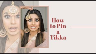 HOW TO: PIN A TIĶKA | INDIAN PARTY | TIPS | GLAMBYGILLY