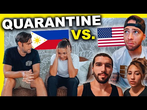 PHILIPPINES Vs. USA Quarantine - What Is It REALLY Like?