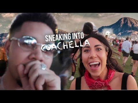 Sneaking into COACHELLA ARTIST SECTION 2018!