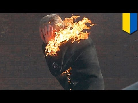 Ukraine protests: 26 dead as clashes in Kiev escalate