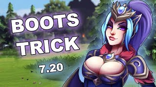 Dota 2 Tricks: NEW Phase Boots Abuse - 7.20 !