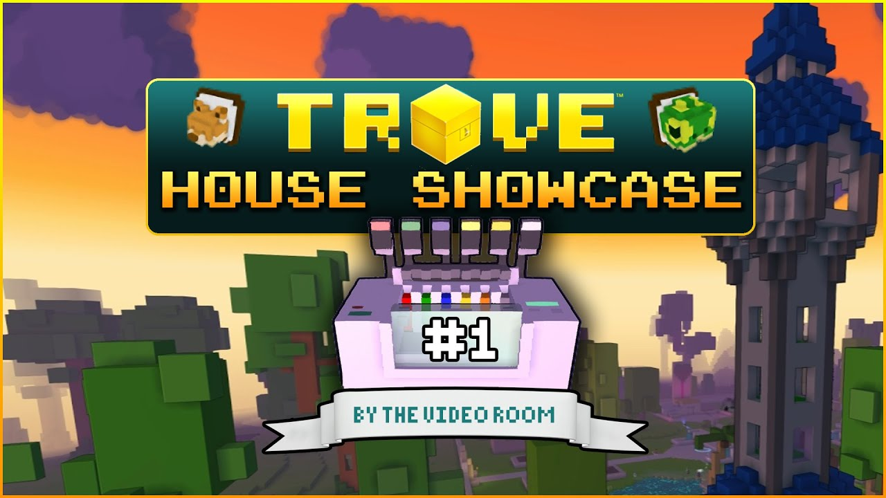 trove house showcase   chinese temple   red castle   wizard tower
