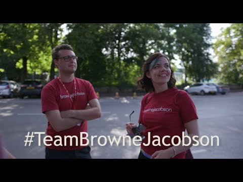 #TeamBrowneJacobson at the UK Corporate Games 2017