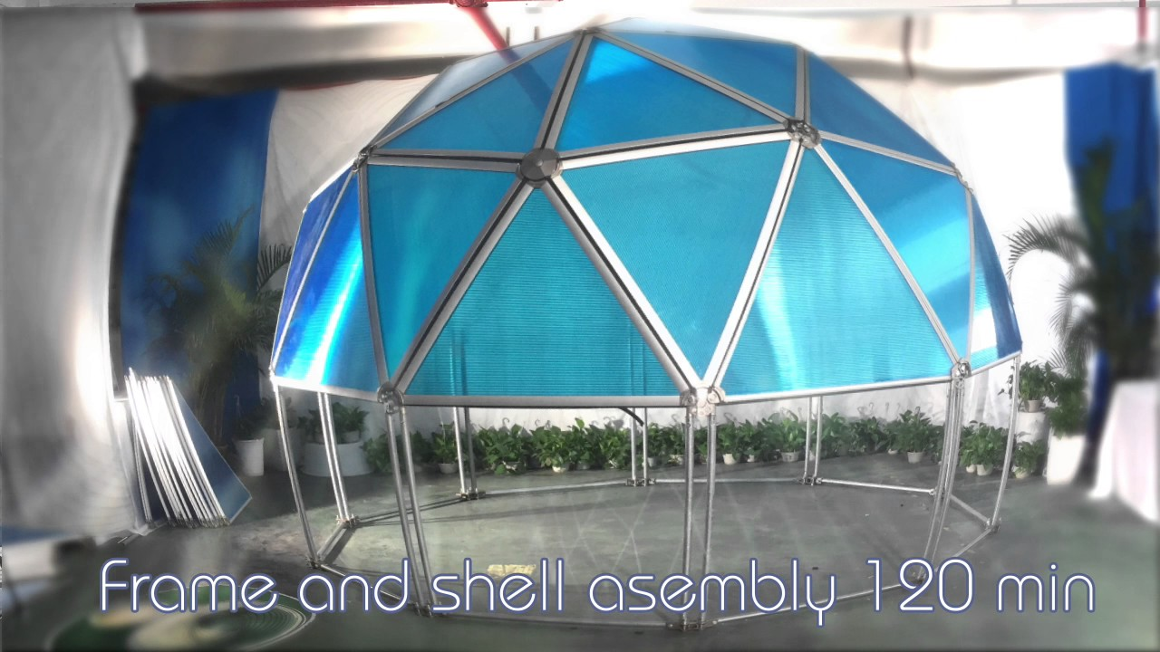 BIO DOME - Eco built systems & BIO DOME - Eco built systems - YouTube