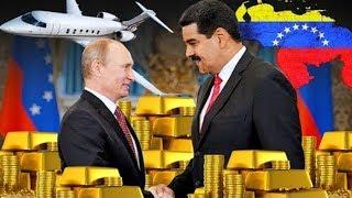Мадуро продал все золото, находившееся на территории Венесуэлы, Кремлю