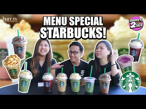 Menu Special Starbucks! | Barang For U 2 See