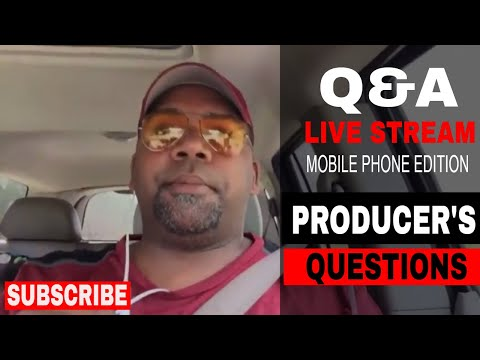 Producers questions and answers Live Stream