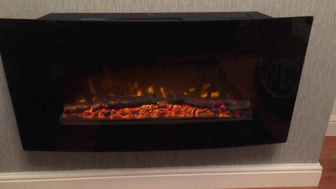 Blyss Wall Mounted Glass Panel Heater 1000w Manual