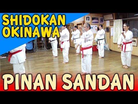 PINAN SANDAN - OKINAWA SHIDOKAN shorin ryu