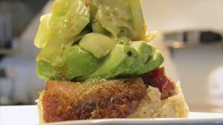 110 Grill: Watch chef work magic in kitchen to whip up tuna-avocado entree