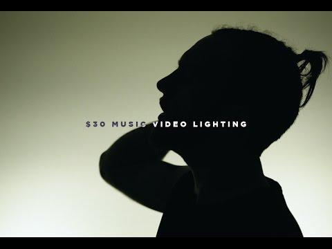 6 Cheap Music Video Lighting Setups (ONLY $30!)