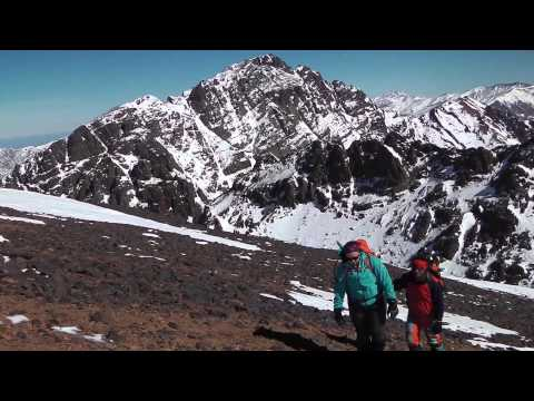 Climb Ras. Atlas Mountains. Morocco