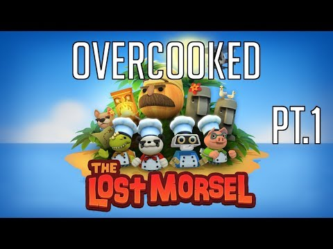 Overcucked Lost Morsel DLC (Overcooked) with the bro...  