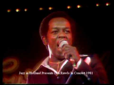 Lou Rawls in Concert Rotterdam 1981