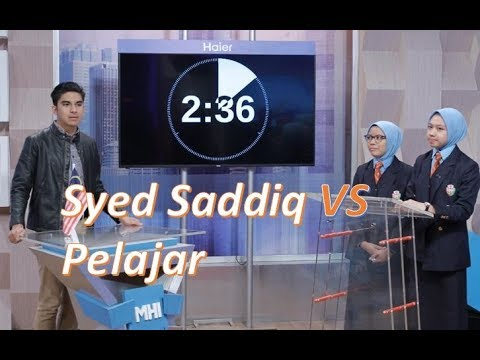 Syed Saddiq berdebat dengan dua pelajar di Malaysia Hari Ini