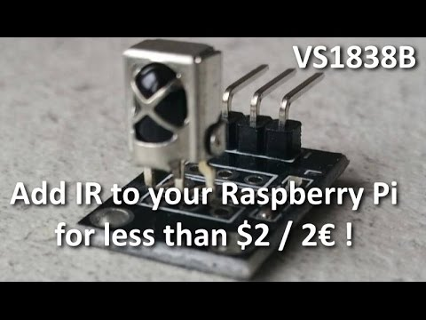 KY-022 Infrared Receiver for Raspberry Pi