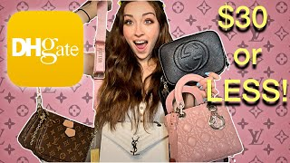 Cheapest DHgate Luxury Purse Haul Part one!